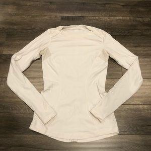 Lululemon Long Sleeve Shirt White Size 4